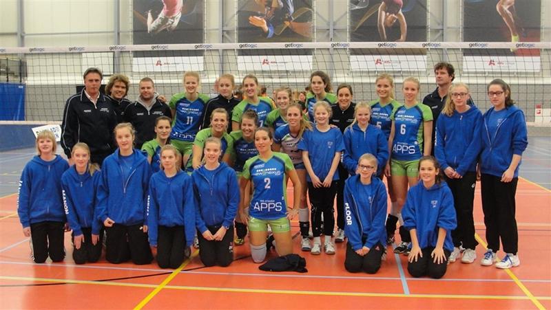 Ballen rollen in Groningen