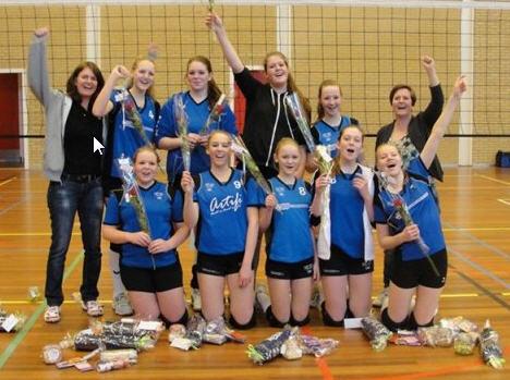 Meisjes A2 Kampioen