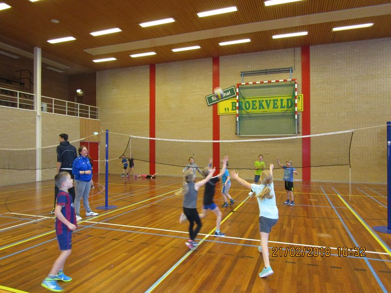 VolleybalClinics..
